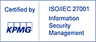 KPMG logo - Certification ISO 27001 - Information Security Management