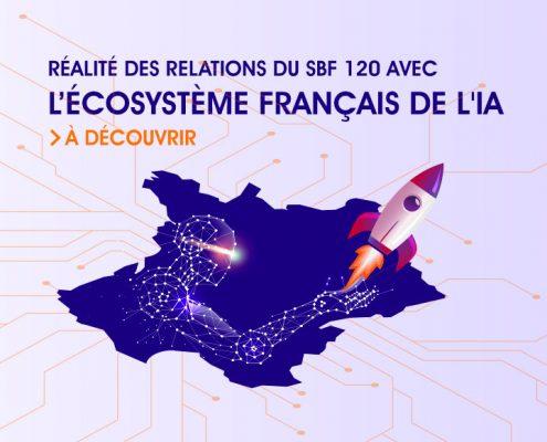 Les entreprises du SBF 120 et l'IA en France