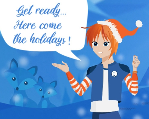 Get ready…. Here come the Holidays!