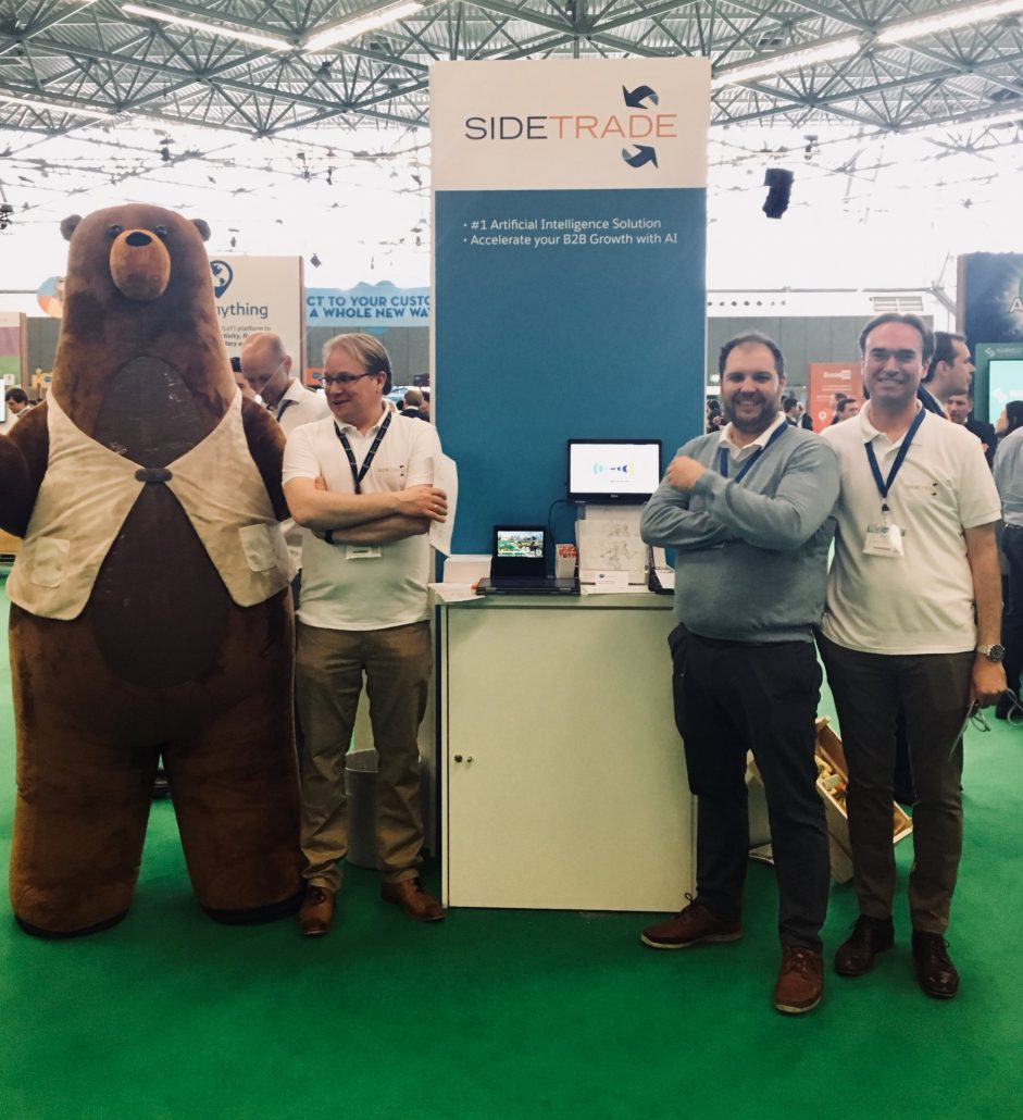 Sidetrade Benelux Team at SFWT Amsterdam